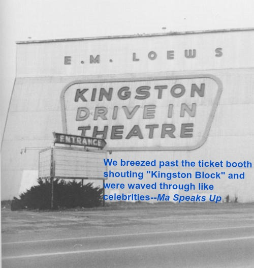Kingston Drive In by Ed Loring-2